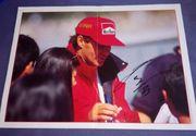 Gerhard Berger Ferrari F1 Poster