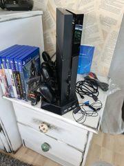 PS4 mit Zubehör