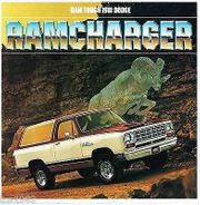 1981 DODGE Ramcharger Sales Brochure -
