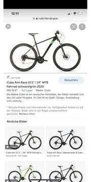 Cube Fahrrad wie neu