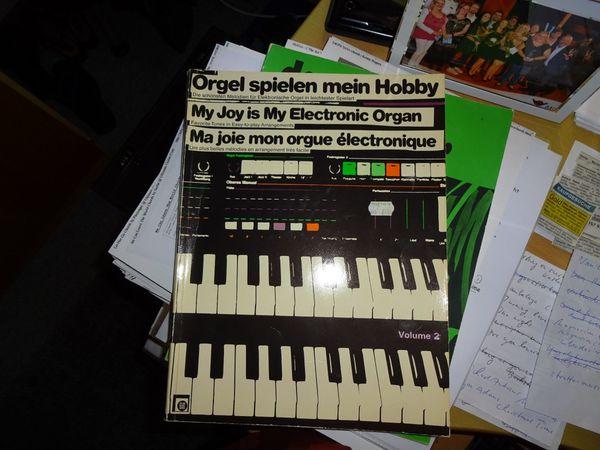 Orgelnotenbuch Orgel spielen mein Hobby