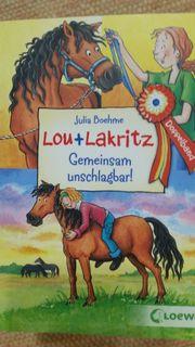 Lou und Lakritz Pferdebücher