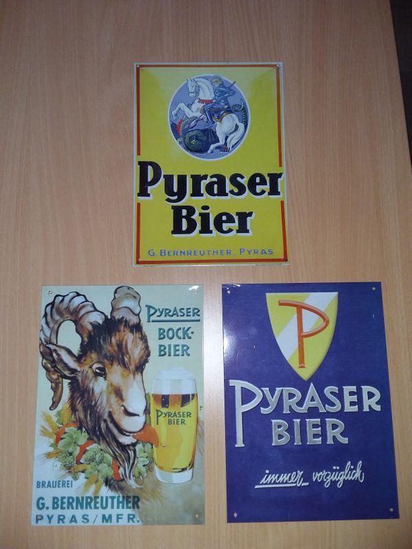 12 Brauereiwerbeschilder