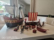 Playmobil Schiffe inkl Figuren und