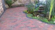 Außenanlage Pflasterverlegung Gartengestaltung vom PROFI
