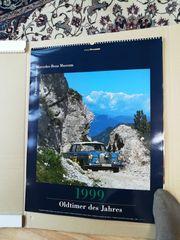 Mercedes-Benz Kalender Oldtimer des Jahres