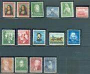 Bund postfrisch Jahrgang 1952 ohne