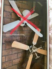 Decken Ventilator mit Licht