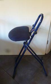 blaue Stehhilfe von Hailo Topzustand