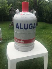 Alugasflasche 11 kg voll