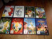 Disney DVDs und DReamworks