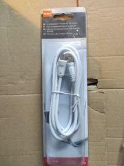 Anschlusskabel F-Stecker auf IEC-Stecker Kabelfernsehen