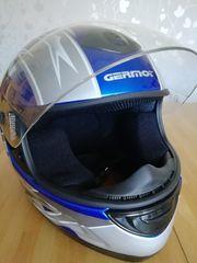 Moped Motorrad Helm Germot Größer