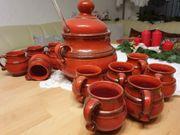 Keramik Bowle Set 15tlg Vintage
