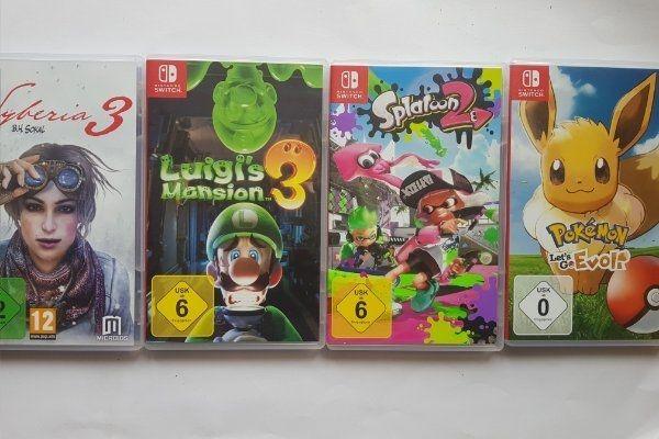 Nintendo Swich Spiele - Luigi s