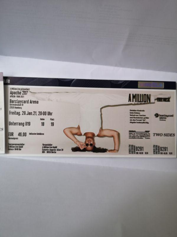 Apache-207 Hamburg 2 Tickets für