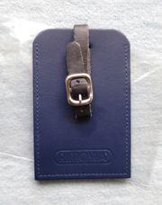 RIMOWA Kofferanhänger Leder blau neu