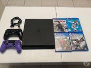 PS4 schlanke schwarze Spielekonsole 500go