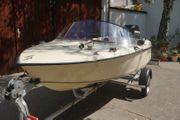 Sportboot mit 40 PS inkl