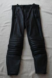 Motorrad Lederhose schwarz Gr 50