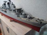 Zerstörer Bayern Modellschiff der Bundesmarine