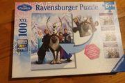 Puzzle Schneekönigin Anna und Elsa