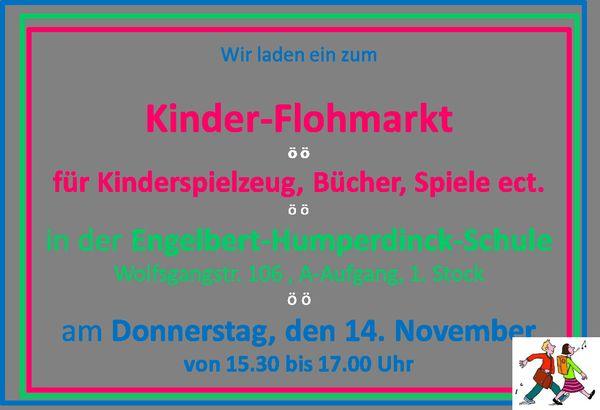 Kinder-Flohmarkt in der Engelbert-Humperdinck-Schule