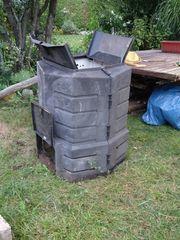 Kompostierer aus Kunststoff