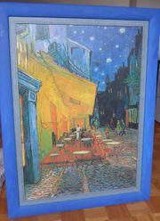 van Gogh Druck mit Rahmen
