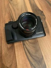 Contax G2 Black with 90mm