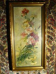 Gemälde Blumenstillleben von 1921 B070