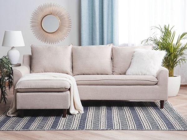 Teppich beige-grau 120 x 170