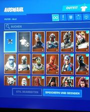 Fortnits account mit 54 skins
