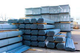 NEUES Gerüst 127qm Fassadengerüst 8: Kleinanzeigen aus Marburg - Rubrik Sonstiges Material für den Hausbau
