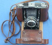 Historische Falt Kamera Zeiss Ikon