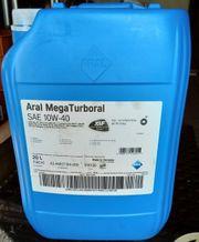 Motoren Öl ARAL Mega turbural