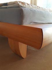 Massivholz-Bett Buche