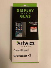 Panzerglas iPhone XR mit abgerundeten