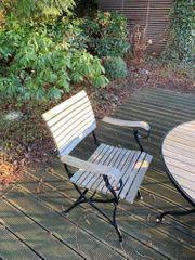 Tisch mit 6 Stühlen Fontenay