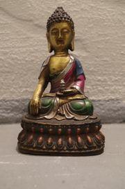 Buddha AMITHABA Bronze Statue Skulptur