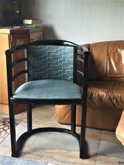 Designklassiker -Stuhl Armlehnstuhl halbrund