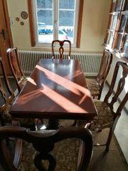 Gründerzeit Esstisch mit Stühlen