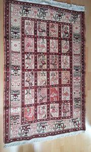 Orientteppich Baumwolle auf Seide Größe