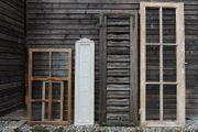 Fernster Fensterladen Bilderrahmen Deko Vintage