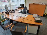 Schnäppchen---Schreibtisch Bürotisch Schreibtischkombination Bene