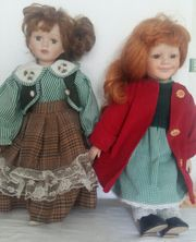 Puppen Porzelan Länge ca 37