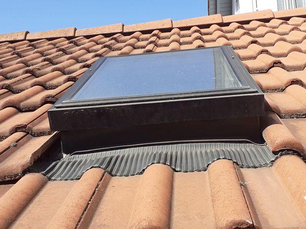 älteres Dachfenster