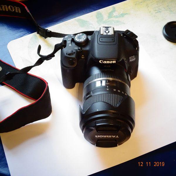 Canon EOS 700 D mit