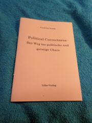 Friedrich Romig Political Correctness Der
