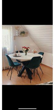 Esstisch Stühle 6er Set